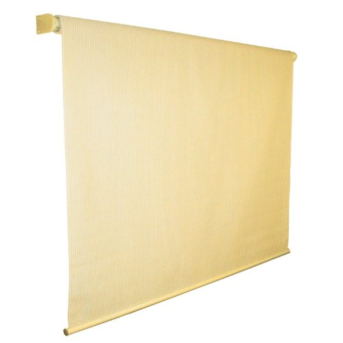 Indoor Outdoor Roller Blind Solar Shade - 6'x6' Sandy Beach