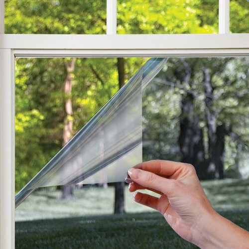 Gila LES361 Heat Control Residential Window Film, Platinum, 36-Inch by 15-Feet