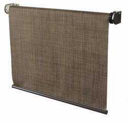 Coolaroo Designer Window Sun Shade 8 Feet Wide by 6 Feet High, Sandalwood